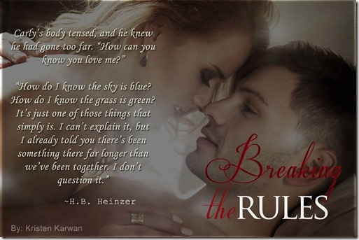 Breaking the Rules Teaser Pic